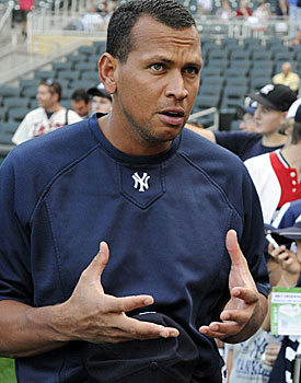'I'm ready to play, and I've watched enough baseball,' Alex Rodriguez says. (AP)