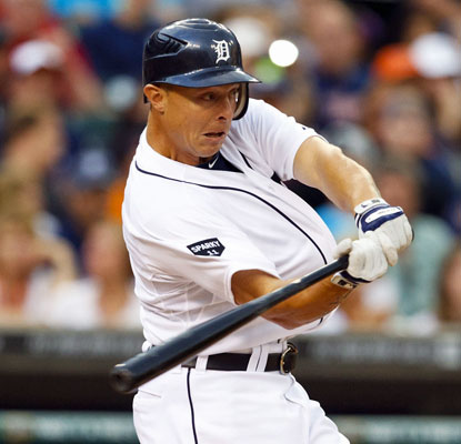Brandon Inge on his home run in the second inning: 'I couldn't have drawn it up any better than that.'  (US Presswire)
