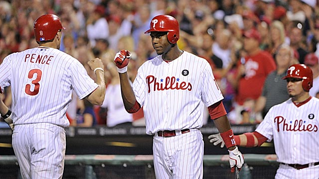 So what if the Phillies lost a series to the Nationals -- they're still baseball's best team. (US Presswire)