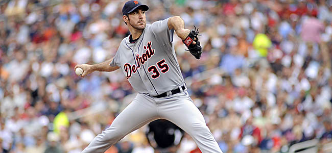 Verlander has now pitched into the seventh inning in eight straight starts, and 17 of his past 18. (AP)