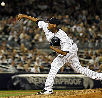 Ivan Nova is nearly unhittable for seven innings, allowing three hits and two runs. (Getty Images)
