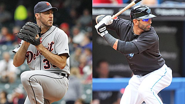Forget qualifiers, Justin Verlander and Jose Bautista should both be in the MVP conversation. (Getty Images)