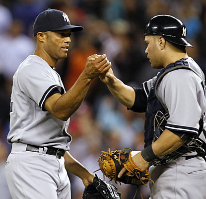 Mariano Rivera reaches an epic milestone and is just two saves away from becoming MLB's new all-time saves leader. (AP)