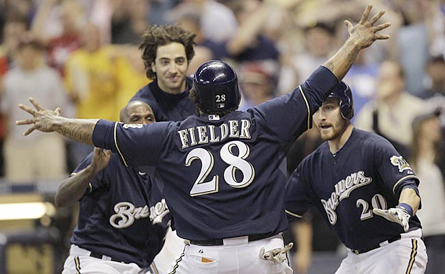 Go ahead, embrace the Brewers. They'll love you right back. (US Presswire)