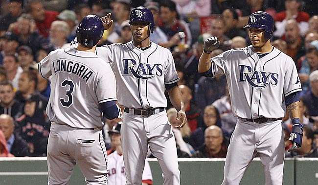 Tampa Bay has won six straight vs. Boston. Pitching matchups favor the Rays in the next three. (US Presswire)