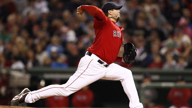 Josh Beckett returns and proves his ankle isn't a problem by delivering a much-needed win. (Getty Images)