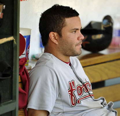 Jose Altuve and the Astros are 100-game losers for the first time in a franchise history that goes back to 1962.  (AP)