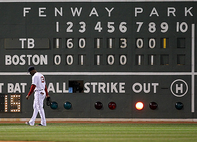 The Red Sox are 6-12 vs. the Rays this season, outscored 96-57 by the AL East's third-place team. (Getty Images)