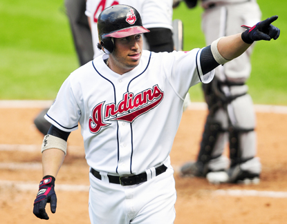 In the bottom of the fourth, Asdrubal Cabrera smacks a tiebreaking homer that lifts the Indians over the ChiSox. (Getty Images)