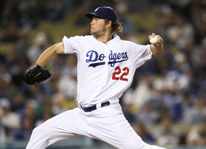 The victory helps Clayton Kershaw become the first 20-game winner for the Dodgers in 21 years. (Getty Images)