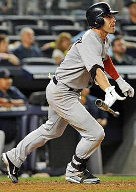 While his Red Sox teammates have more or less collapsed around him, Jacoby Ellsbury has not. (Getty Images)