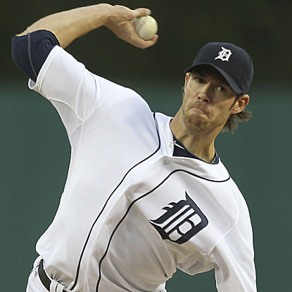 Doug Fister pitches eight shutout innings in a playoff tuneup for the Tigers.  He is 7-0 with a 0.65 ERA in his last 8 starts. (Getty Images)