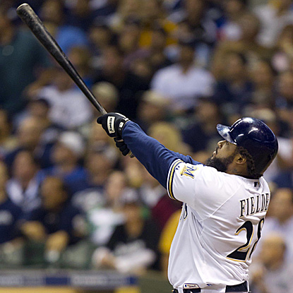 Prince Fielder enjoys a monster night Tuesday, hitting three home runs for the first time in his career. (US Presswire)