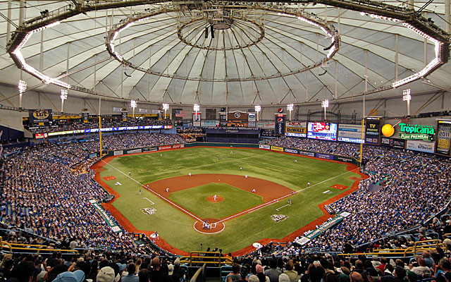 The Rays finished behind every team but Oakland (concidence?) in average attendance. (Getty Images)