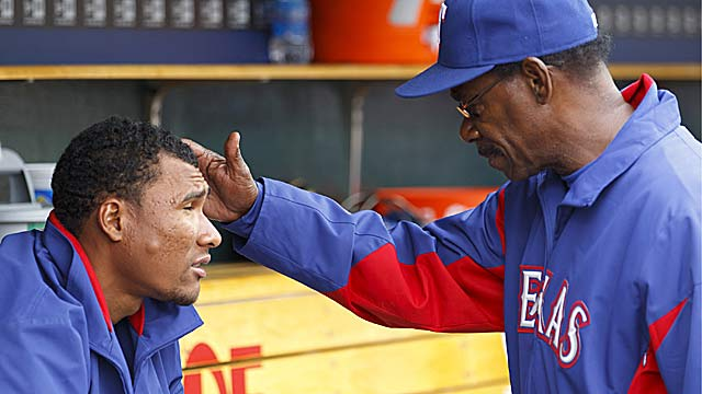 The question of starting Alexi Ogando next year will haunt Ron Washington this winter. (US Presswire)