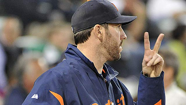 Will Justin Verlander claim a second award when AL MVP is announced Monday? (Getty Images)