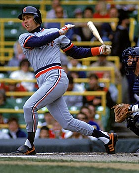 Trammell was 'the toughest out' in a strong Tigers lineup, Pat Gillick says. (Getty Images)