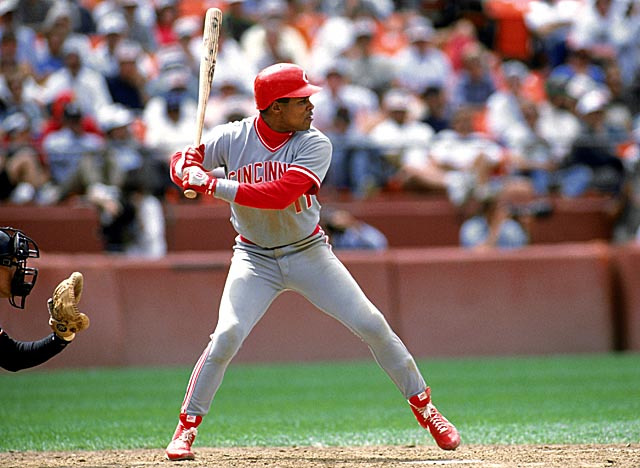 The first shortstop to go 30-30, HOF hopeful Barry Larkin was also a 12-time All-Star. (Getty Images)