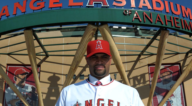Albert Pujols is getting much more than $240 million in his Angels deal. (US Presswire)