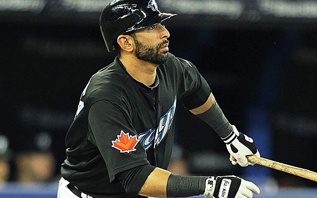 Jose Bautista is only one of a handful of Blue Jay players enjoying five-year deals. (Getty Images)