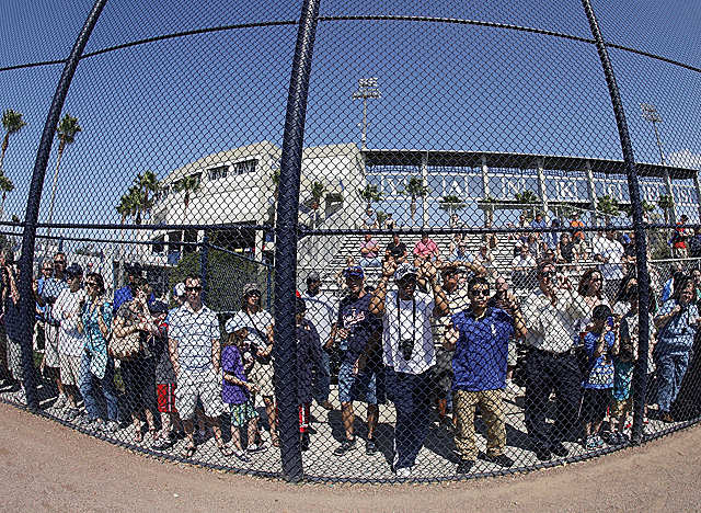 Fans await the new baseball season, the first full workouts for which begin in late February. (Getty Images)