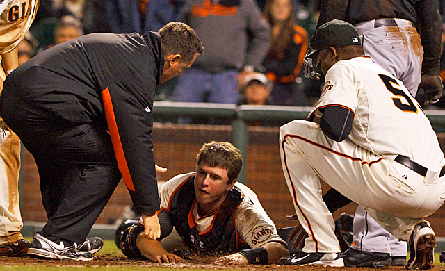 Plenty of concerns were raised after Buster Posey's ankle injury last season. (US Presswire)