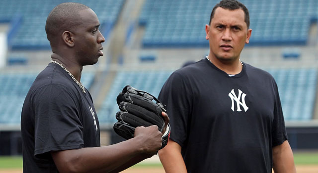 Rafael Soriano and Freddy Garcia are part of a deep pitching roster for the Yankees. (US Presswire)
