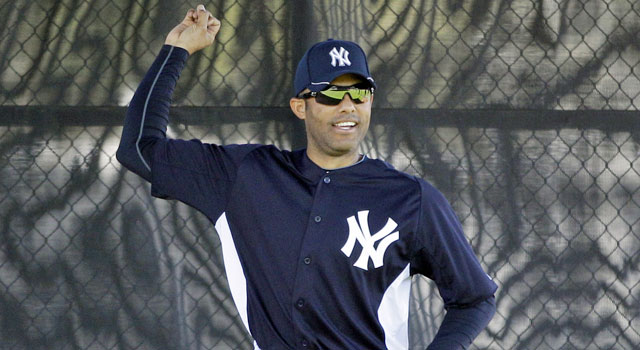 One thing to like about the Yankees: Mariano Rivera never seems to age. (AP)