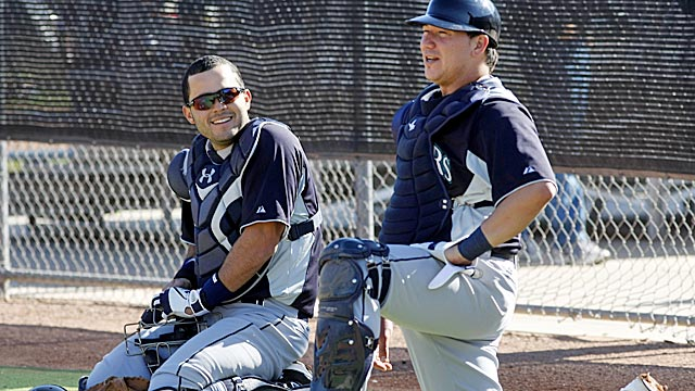 Jesus Montero (left) says he's excited to be in Seattle, where big things are expected of him. (US Presswire)