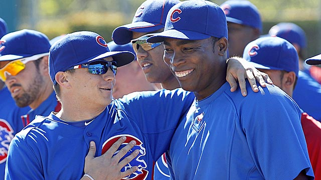 If Alfonso Soriano can get off to a hot start, the Cubs may look to offload his contract via trade. (AP)