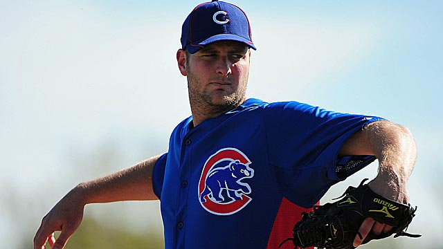 Chris Volstad is part of  deep pitching staff that should be the foundation of the new-look Cubs. (US Presswire)