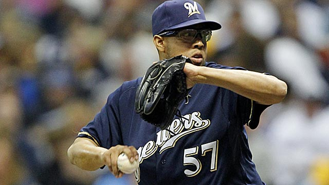 After aquiring K-Rod last season, the Brewers didn't lose a single lead after the seventh inning. (US Presswire)