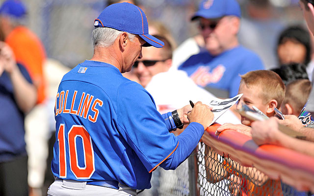 Manager Terry Collins gives Mets camp a refreshing dose of enthusiasm. (US Presswire)
