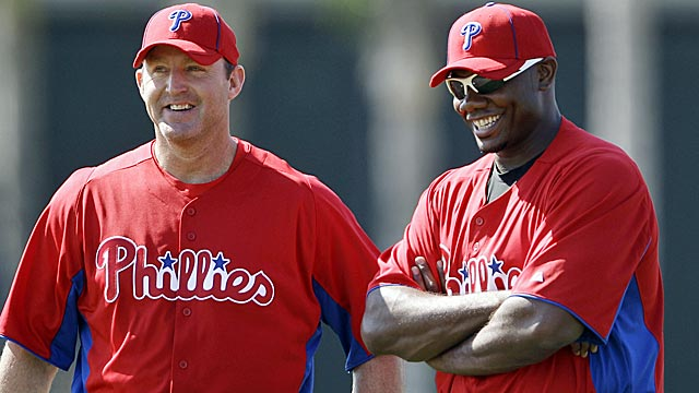 With Ryan Howard likely out to start 2012, Jim Thome could be counted on more. (AP)