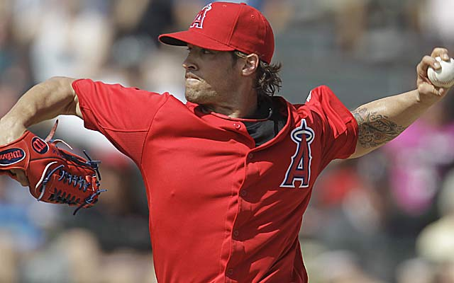 C.J. Wilson helps form a Big 4 with Jered Weaver, Daren Haren and Ervin Santana. (AP)