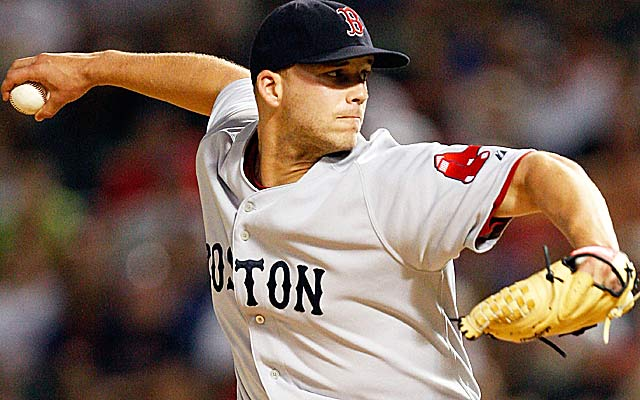 Justin Masterson: 'If I was [still with the Red Sox], I'd probably still be in the bullpen.' (Getty Images)