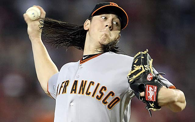 Tim Lincecum had a 2.74 ERA, but got the worst run support (2.94) in the NL. (Getty Images)