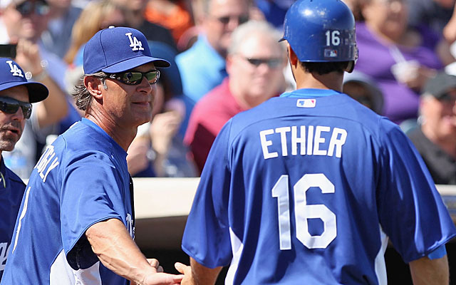 On the good side: Don Mattingly gains experience and Andre Ethier has something to play for. (Getty Images)