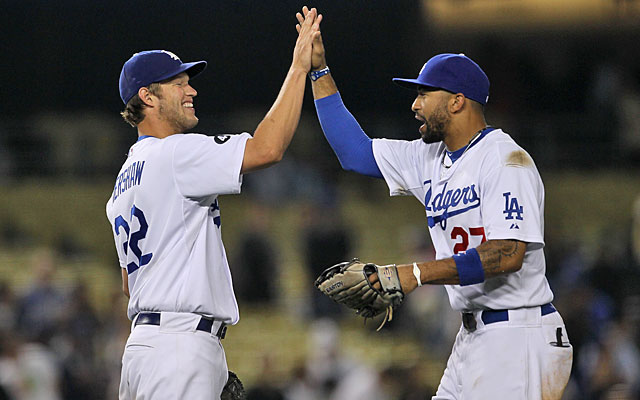 Clayton Kershaw won the 2011 NL Cy Young; Matt Kemp finished second in a close MVP vote. (Getty Images)