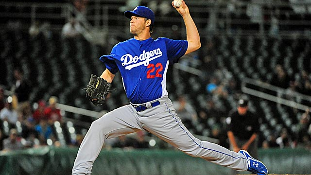 Can Clayton Kershaw claim back-to-back Cy Young awards? (US Presswire)
