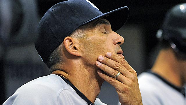 Joe Girardi can find solace in the Yanks' last 0-3 start, 1998, which ended with a World Series title. (AP)