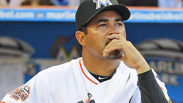 Guillen will try to talk his way out of the corner he backed into with his Castro remarks. (Getty Images)