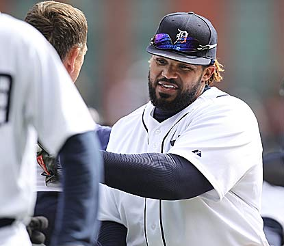 Prince Fielder hits a key single for Detroit, which has won its first four games -- three in its final at-bat. (Getty Images)