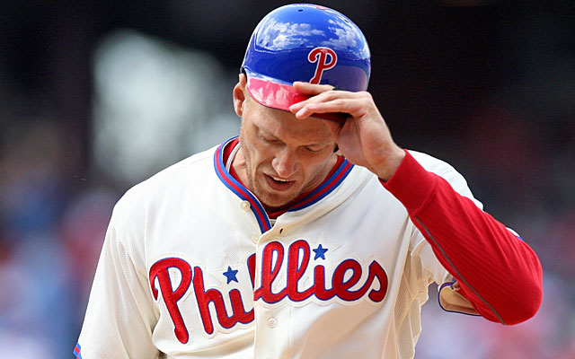 Bold prediction: Hunter Pence's Phillies will not finish the season averaging two runs per game. (AP)