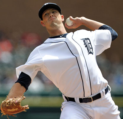 In his major-league debut, Drew Smyly goes four-plus innings and allows one run on four hits.  (Getty Images)