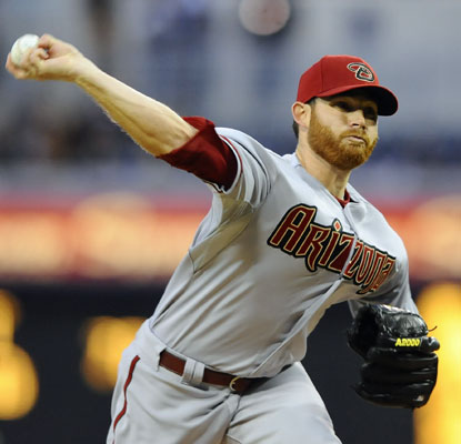 Ian Kennedy improves to 6-0 against the Padres in eight career starts with a 1.95 ERA.  (US Presswire)