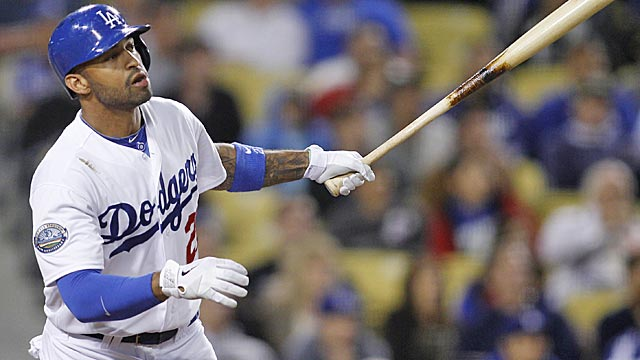 Kemp says he's glad he made his bold prediction. 'It's good to be positive.' (AP)