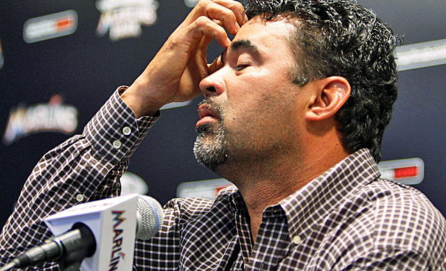 The Marlins hope to keep Guillen from having to do another news conference to apologize. (AP)