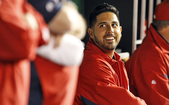 Happy days: Gio Gonzalez and the Nats' starters enter Wednesday with a 1.69 ERA. (AP)