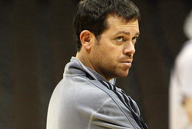 Manhattan's Steve Masiello: 'I felt handicapped I couldn't get out and do what I was good at.' (US Presswire)
